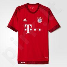 Marškinėliai futbolui Adidas Bayern Monachium M S14294