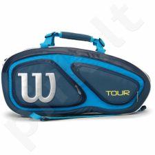 Kuprinė tenisui Wilson Tour V 9 Pack BL WRZ843609