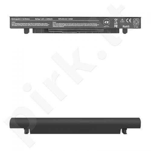 Qoltec Long Life Notebook Battery - Asus X550 | 2200mAh | 14.8V