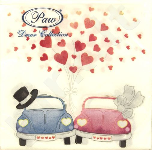 Servetėlės ​​Cars in Love 103554
