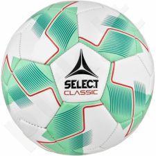 Futbolo kamuolys Select Classic 5 balto - žalio atspalvio