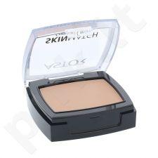 Astor Skin Match kompaktinė matinė pudra, kosmetika moterims, 7g, (302 Deep Beige)