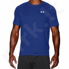 Marškinėliai treniruotėms Under Armour Tech Shortsleeve New M 1228539-400