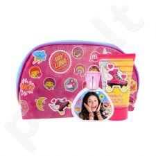 Disney Soy Luna rinkinys vaikams, (EDT 50 ml + dušo želė 100 ml + kosmetikos krepšys)