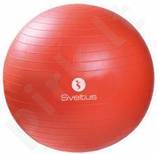 Gimnast. kamuolys GYMBALL 55cm orange+pakuotė