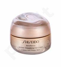 Shiseido Benefiance, Wrinkle Smoothing, paakių kremas moterims, 15ml