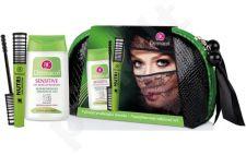Dermacol (8ml Nutri Lash blakstienų tušas + 125ml Sensitive akių makiažo valiklis +krepšelis Nutri Lash 7979, 133ml, kosmetika moterims