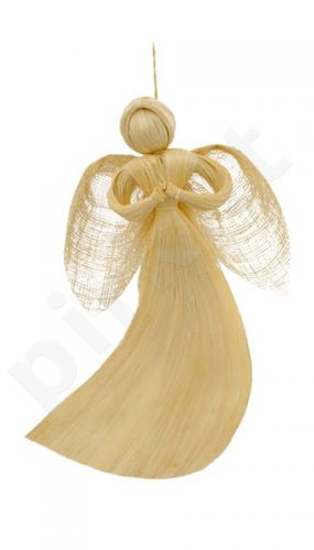 Angelas iš abakos pluošto 20cm 53434