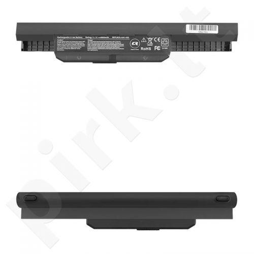 Qoltec Long Life Notebook Battery - Asus K53S X53S | 6600mAh | 11.1V