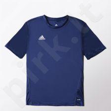 Marškinėliai futbolui Adidas Core Training Jersey Jr S22397