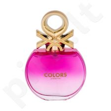 Benetton Colors Pink, EDT moterims, 80ml