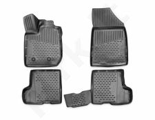 Guminiai kilimėliai 3D LADA Xray 2015->, (without box), 4 pcs. /L39003G /gray