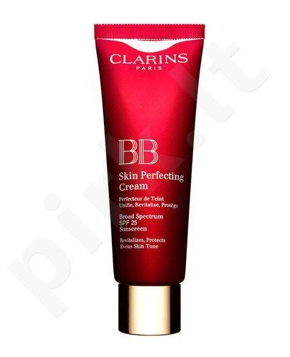 Clarins BB Skin Perfecting kremas SPF25, kosmetika moterims, 45ml, (03 Dark)