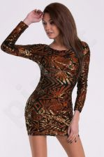 EVA&LOLA suknelė - vario atspalvio 10010-4
