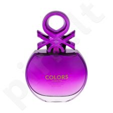 Benetton Colors Purple, EDT moterims, 80ml