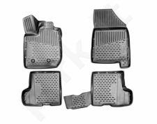 Guminiai kilimėliai 3D LADA Xray 2015->, (with box), 4 pcs. /L39004G /gray