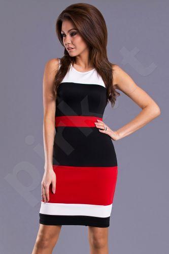 Emamoda suknelė - raudona 7105-6