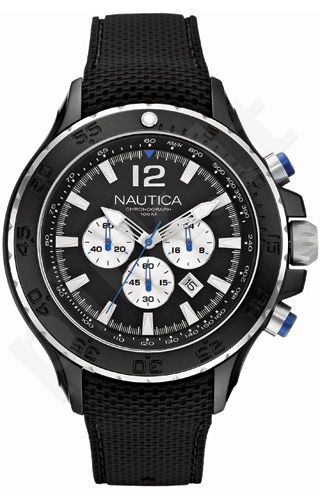 Laikrodis NAUTICA NST ALUMINUM chronografas A22625G