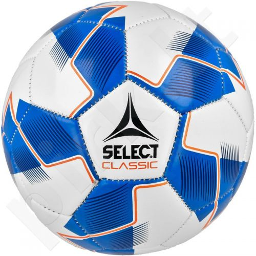 Futbolo kamuolys Select Classic 5 balto - mėlyna