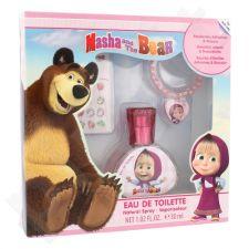 Disney Masha and The Bear rinkinys vaikams, (EDT 30 ml + auskarai + apyrankė)