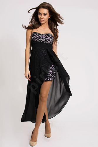 EVA&LOLA suknelė - juoda 9708-2