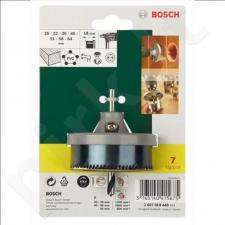 Bosch 7 dalių kiaurymių pjūklelių rinkinys