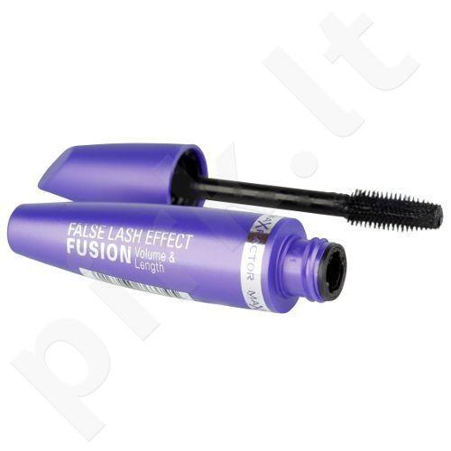 Max Factor False Lash Effect Fusion blakstienų tušas, 13,1ml, kosmetika moterims