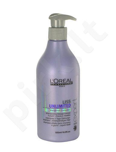 L´Oreal Paris Expert Liss Unlimited šampūnas, kosmetika moterims, 500ml
