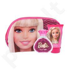 Barbie Barbie rinkinys vaikams, (EDT 50 ml + kūno losjonas 100 ml + kosmetikos krepšys)