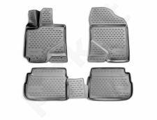 Guminiai kilimėliai 3D PONTIAC Vibe 2009-2012, 4 pcs. /L53001G /gray