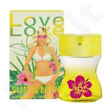Morgan Love Love Sun & Love, tualetinis vanduo moterims, 100ml