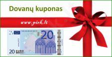 Dovanų kuponas 20 Eurų