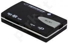 Kortelių skaitytuvas Esperanza All-in-One EA 129 USB2.0