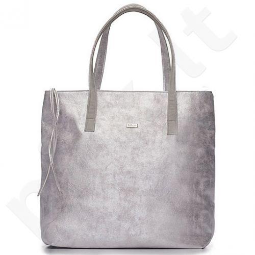 Rankinė shopper bag FELICE D01 Verona silver