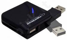 Kortelių skaitytuvas Esperanza All-in-One EA 130 USB2.0