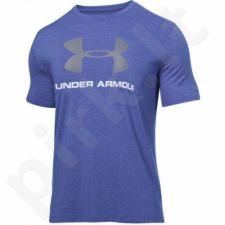 Marškinėliai treniruotėms Under Armour Sportstyle Logo M 1257615-402