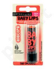 Maybelline Baby Lips Electro, kosmetika moterims, 4,4g, (Oh! Orange!)