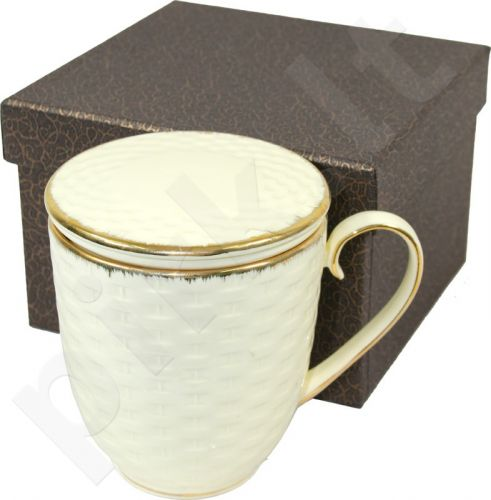 Puodelis su arbatžolių sieteliu 100500