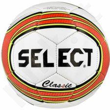 Futbolo kamuolys Select Classic 5 balto - raudono atspalvio