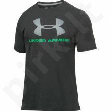 Marškinėliai treniruotėms Under Armour Sportstyle Logo M 1257615-012