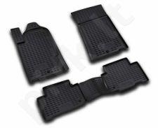 Guminiai kilimėliai 3D SSANGYONG Rexton 2006-2012, 4 pcs. /L58010