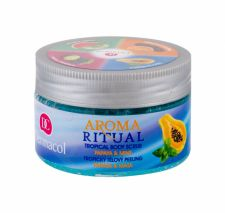 Dermacol Aroma Ritual, Papaya & Mint, kūno pilingas moterims, 200g