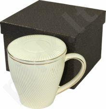 Puodelis su arbatžolių sieteliu 100499
