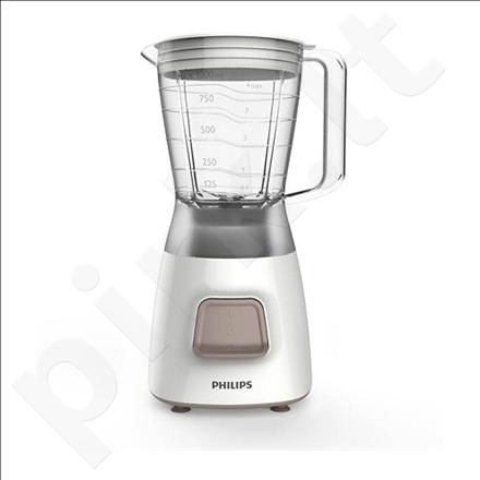 PHILIPS HR2052/00 Blender, 1,25L jar capacity, 350W, 1 speed, Pulse, White