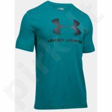 Marškinėliai treniruotėms Under Armour Sportstyle Logo M 1257615-158