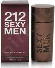 Carolina Herrera 212 Sexy Men, Eau de Toilette vyrams, 100ml