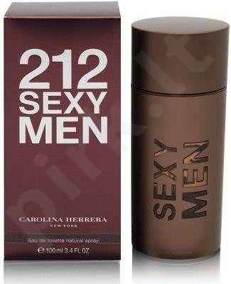 Carolina Herrera 212 Sexy, tualetinis vanduo (EDT) vyrams, 100 ml