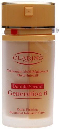 Clarins Double Serum Generation 6 Firming Care, 30, kosmetika moterims