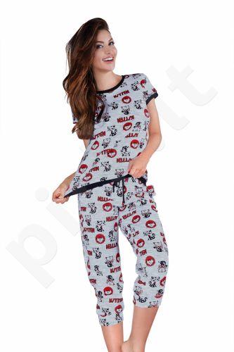 Babella pižama KATINAI 3001S (limituota versija iš medvilnės)