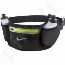 Dėklas bėgimui ant juosmens  su gertuve  Nike Lean 2 bottle NRL57023OS